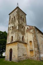 evanjelický kostol v Bušovciach