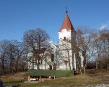 kostol svätého Vavrinca v Žiari nad Hronom - Horných Opatovciach