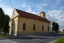 Huncovce - evanjelický kostol [máj 2012]