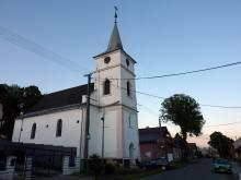 Rakúsy - evanjelický kostol [máj 2012]